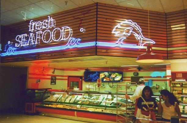 Timothy Stead  Giant Food Interior Neon Graphics