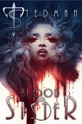 Blood Sister by T Stedman book cover