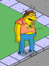 the simpsons tapped out barney