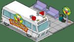 TSTO Krustyland shuttlebus