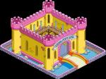 TSTO Krustyland Sleeping itchy's castle