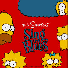 Simpsons sing the blues