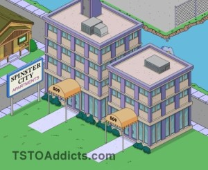 Spinster apartments