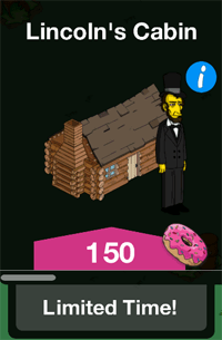 Tapped-Out-Lincolns-Cabin