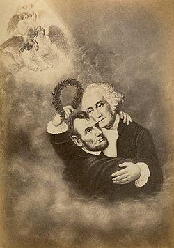 The Apotheosis Lincoln Washington
