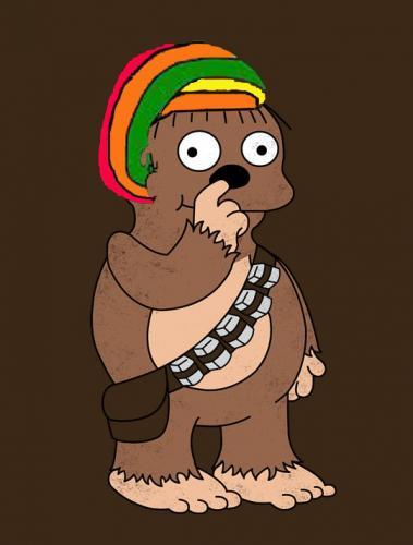 Ralph the Rasta Wookiee