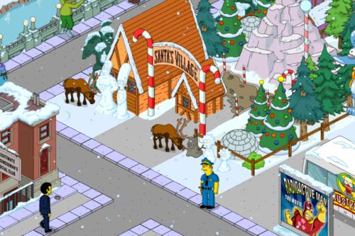 Simpsons Snowpeople