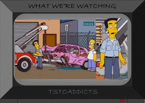 Simpsons Car Grimes Jr.
