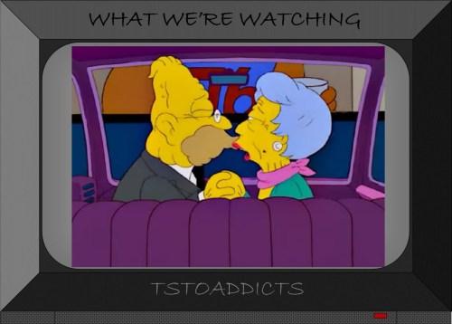 Simpsons Car Kiss