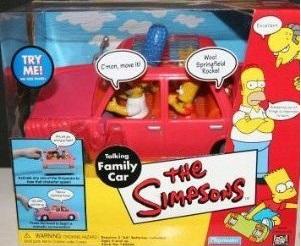 Simpsons Car Toy