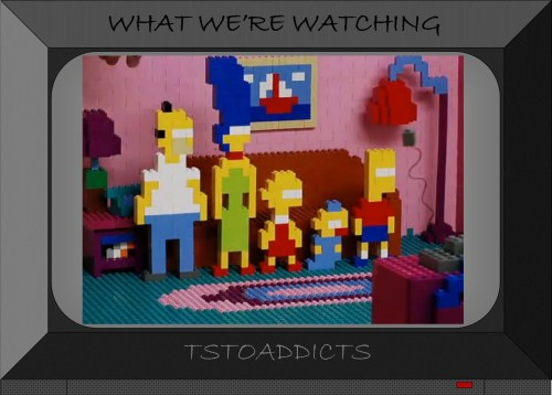 Simpsons LEGO Couch Gag