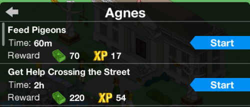 Agnes new task name