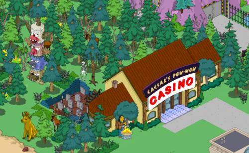 Indian Casino bunny