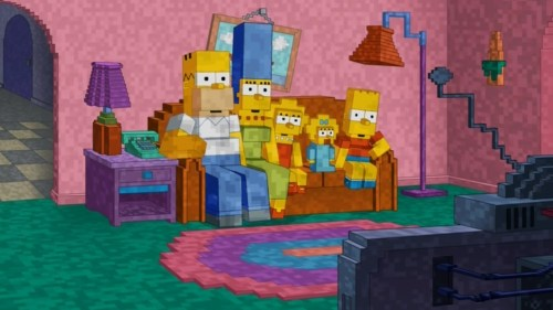 The Simpsons Luca$ Promotional Photo