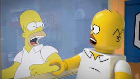 Brick Like Me Homer