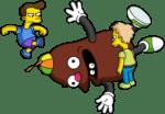 Cocoa getting kicked 2