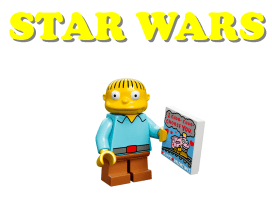 LEGO Wednesday Wookiee  4