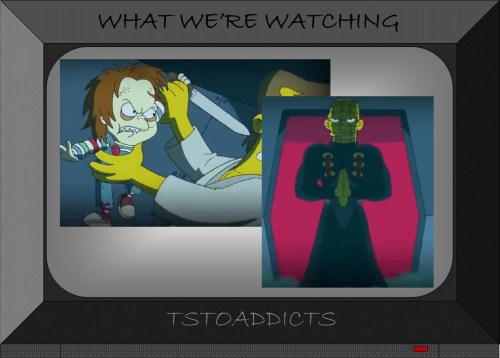 Horror Simpsons Chucky & Pinhead