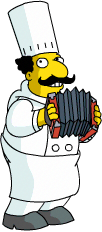 Luigi Play accordian