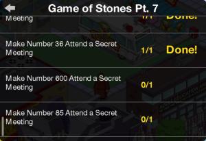 Marieke Game of Stones pt 7