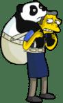 Moe smuggling panda