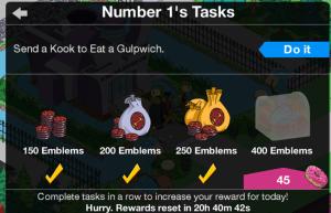 Number 1 400 Emblems