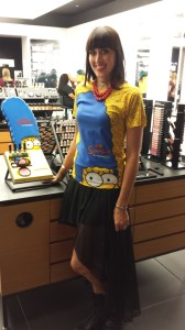 MAC Marge Simpson SDCC 2014