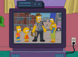 Cool Brown House and Homer 2