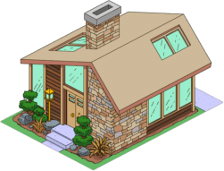 Cool Brown House