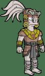 Mayan Stone God 1