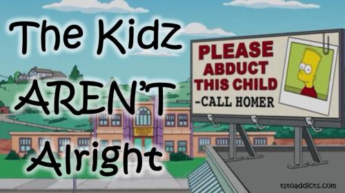 Bart Billboard Banner Kidz Aren't Alright