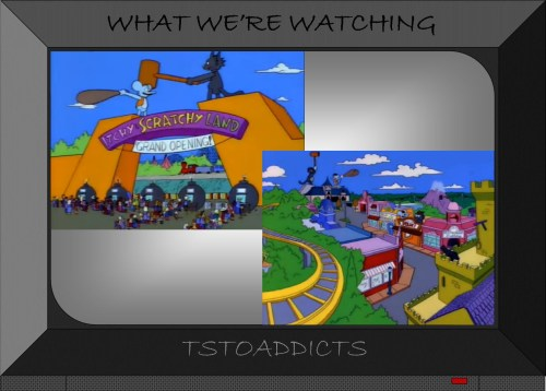 Itchy & Scratchy Land
