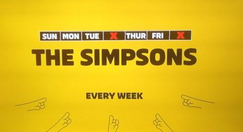 Simpsons on FXX