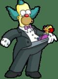 Tuxedo Krusty Mini Ha Ha Pants Clown 1