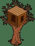 Bart's Treehouse Halloween