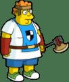 Blue Nerd Warrior