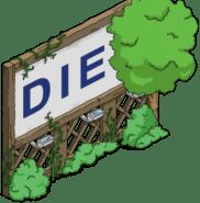 diet sign