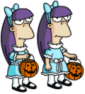 Sherri and Terri Trick or Treat