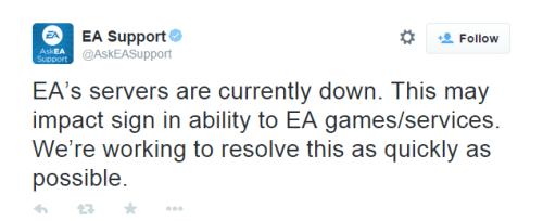 EA Origin Servers Down 11 23 2014