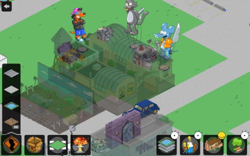 Hiding Buildings