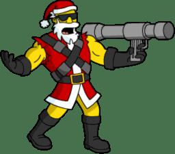 Bone Storm Santa 1