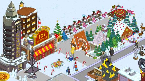 Wookiee Christmas Village