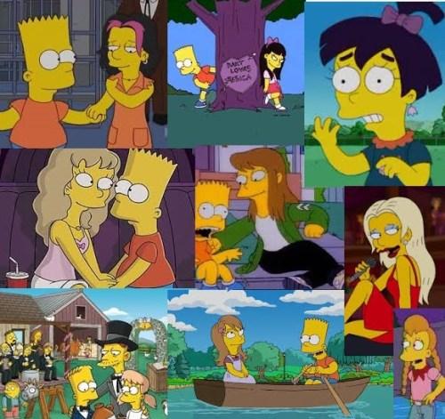 Bart's Girlfriends