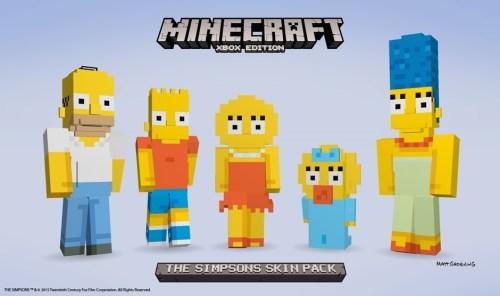 Simpsons Minecraft