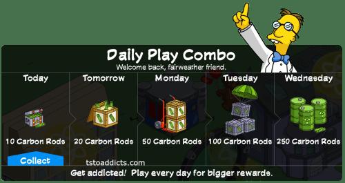 Daily Combo Reward