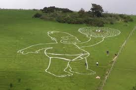 Homer Chalk Outline 2