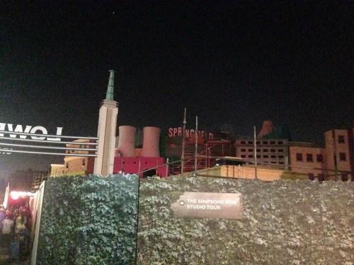 Springfield Universal Hollywood Night