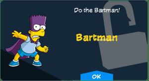 Bartman Unlock Screen
