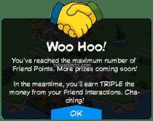 Friend Points MAX Triple Reward