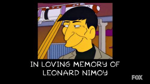 Leonard Nimoy Simpsons